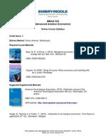 MBAA 523 Online Syllabus 0514