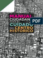 Manual Ciudadano Para El Cuidado Del Centro Hidtorico