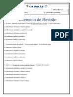 Estudo Dirigido de _Lingua Portuguesa 9 Ano