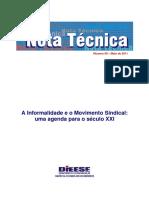 DIEESE_NT99_informalidade -