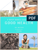 A Busy Babes Guide to Good Health