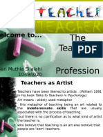 Teaching Profession S.muthia.S.