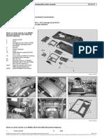 Mercedes Benz W204 - Disassemble_assemble Center Console
