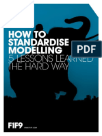 How To Standardise Financial Modelling eBook