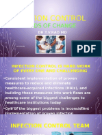 INFECTION CONTROL TRENDS OF CHANGE by Dr.T.V.Rao MD