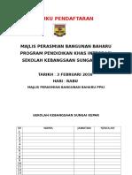 Buku Pendaftaran