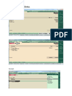 TDS Receivable Entry