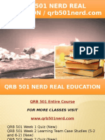 QRB 501 NERD Real Education - Qrb501nerd.com