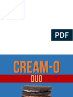Cream-o Duo Presentation