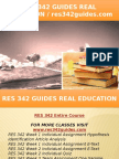 RES 342 GUIDES Real Education - Res342guides.com