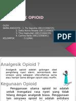 Ppt Analgetik Opioid Pptx