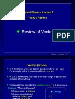 2b Vectors