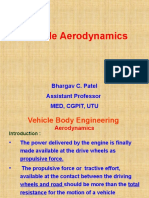 Aerodynamic drag of car Brief.ppt