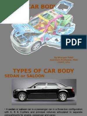 Car Body | Sedan (Automobile) | Limousine