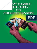 Don't Gamble With Safety on Chemical Tankers