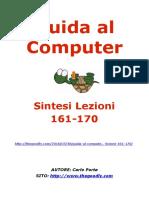 Guida al Computer - Sintesi Lezioni 161-170