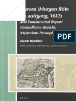 (Aries Book Series 16) Jacob Boehme, Andrew Weeks, Günther Bonheim, Michael Spang-Aurora (Morgen Röte Im Auffgang, 1612) and Ein Grün