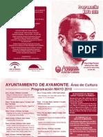 Programacion Cultural Mayo-2010