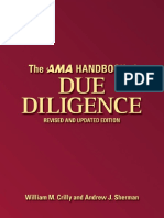 The AMA of Due Diligency