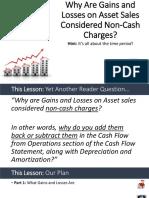 105 17 Gains Losses Non Cash Charges