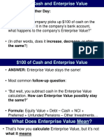 106 12 Cash Enterprise Value Impact