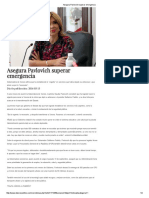 13-03-16 Asegura Pavlovich superar emergencia. -dossierpolítico