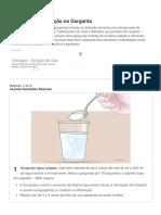 3 Formas de Aliviar Irritação Na Garganta - WikiHow