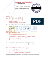 GATE 2012 solved paper