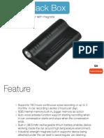 Magnet Hidden Voice Recorder Q5