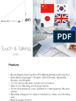 East Asia Language Touch Learning Pen
