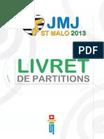 Livret de Partitions JMJ -St Malo 2013