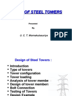 Design of Steel Tower