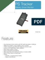 T1124 GPS Tracker