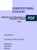 Gastrointestinal System 2010