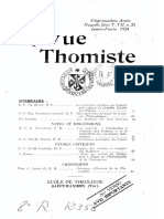 Revue Thomiste 1924 Completo