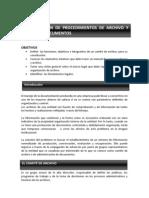 NORMALIZACION DE PROCEDIMIENTOS DE ARCHIVO Y MANEJO DE DOCUMENTOS UNIDAD 8