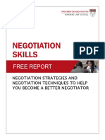 NegotiationSkills
