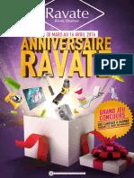 Catalogue Anniversaire Ravate