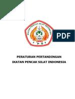 Peraturan Pertandingan Pencak Silat 2012