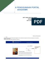 Tata Cara Penggunaan Portal Akademik