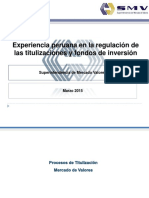 SMV Titulizacionesy Fondos de Inversión 2015
