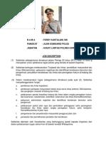 09. Job Discription Kasat Lantas