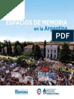 Espacios de Memoria en La Argentina. Catalogo Web