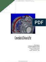 Manual Convertidor Divisor Par Maquinaria Pesada