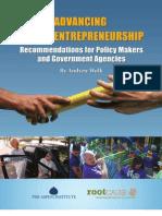 Advancing Social Entrepreneurship