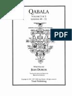 Qabala Vol. 3