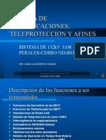 SISTEMA DE COMUNICACIONES, TELEPROTECCION Y AFINES