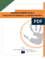 Unidad Didactica 6 Solicitud de Fondos Ue