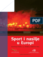 Sport i nasilje u Evropi