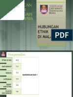 CTU555 Sejarah Malaysia - Kesepaduan Dalam Kepelbagaian Di Malaysia